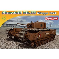 Churchill  MK.III Dieppe 1942 # Dragon 7510