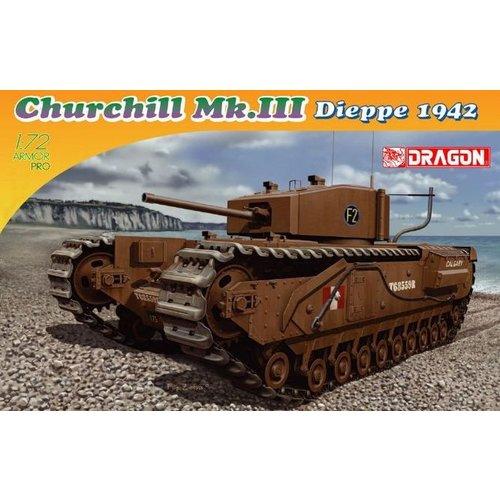 Dragon Churchill  MK.III Dieppe 1942 1:72