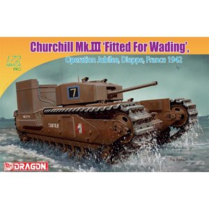Dragon Churchill MK.III Fitted France 1942