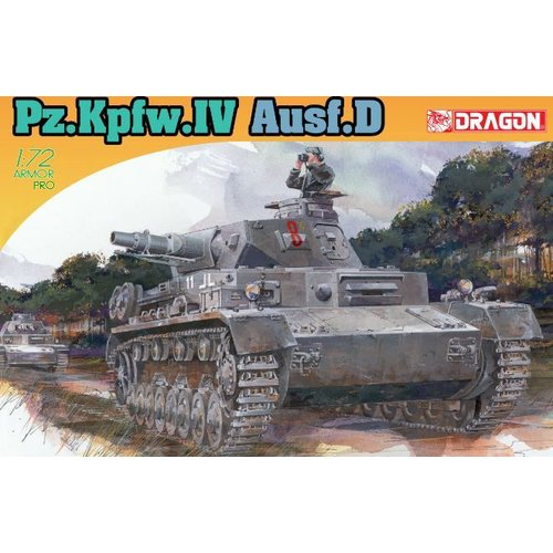 Dragon PZ. KPFW. IV AUSF. D