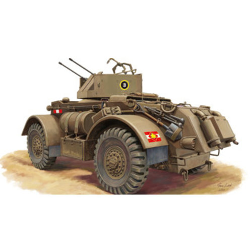 Bronco T17E2 Staghound 1:48 # Bronco ZB48002