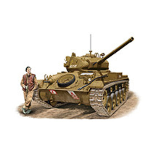 Bronco M-24 Chaffee 1:35