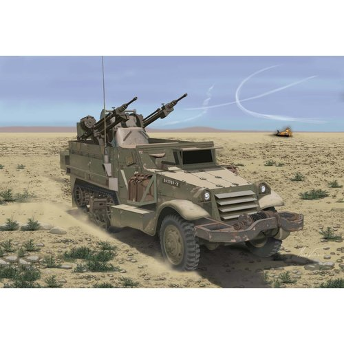 Dragon IDF M3 Halftrack W/TCM-20 ANTI-AIRCR.GUN