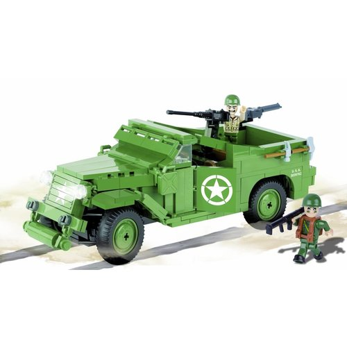 Cobi Small Army WWII - M3 Scout Car # 2368