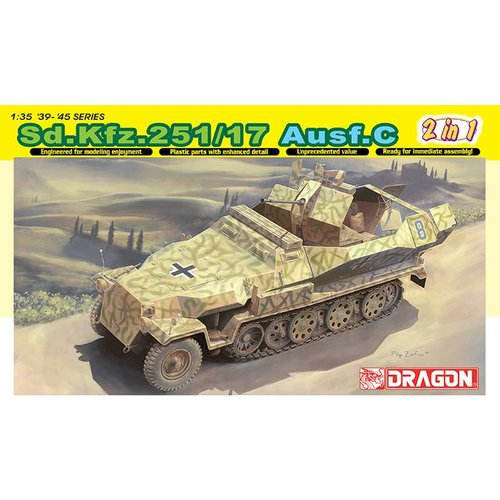 Dragon SD.KFZ. 251/17 AUSF.C 1:35