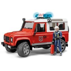 Land Rover Defender Brandweer # Bruder 02596