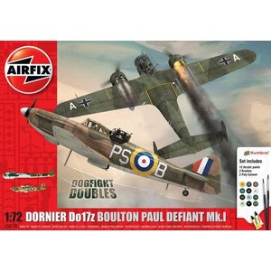 Airfix Boulton Paul Defiant Mk.1 + Dornier Do17z