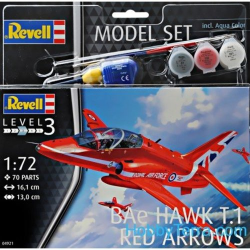 Revell Bae Hawk T.1 Red Arrows 1:72  # Revell 04921