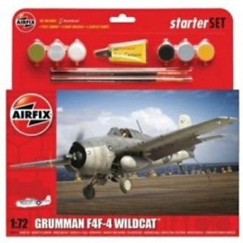 Airfix Grumman F4F-4 Wildcat Starterset 1:72