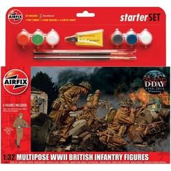Britse infanterie WWII - 1:32 # Airfix 55211