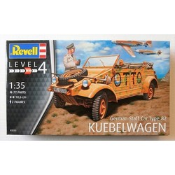 "German Staff Car Type 82 ""Kübelwagen 1:35 # Revell 03253"