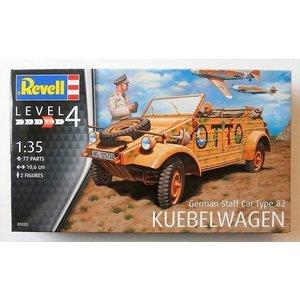 "Revell German Staff Car Type 82 ""Kübelwagen 1:35"