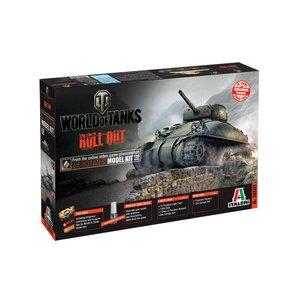 Italeri World of Tanks M4 Sherman model kit 1:35