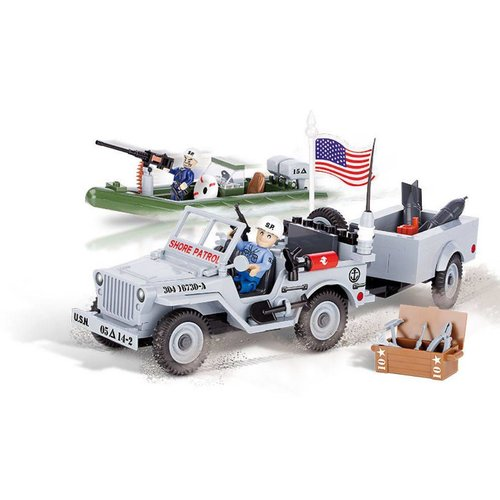 Cobi - Small Army - Willys Jeep Marine # Cobi 24193