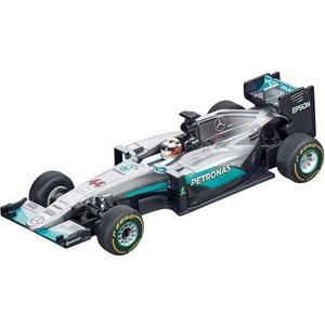 """Carrera Carrera GO!!! Mercedes F1  """"L.Hamilton, No.44"""" - Racebaan auto"""