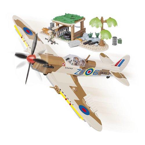 Cobi Spitfire MK IX (Desert Airstrip) # Cobi 5545