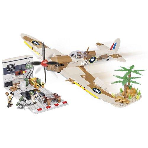 Cobi Supermarine Spitfire  + Hangar # Cobi 5546