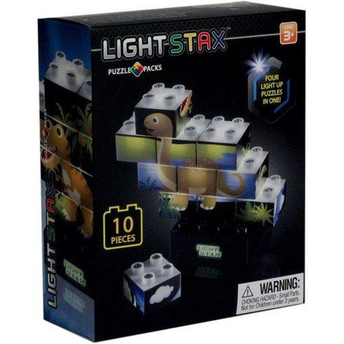 LIGHT STAX Light STAX Junior Puzzel (Dinosaurus Editie)