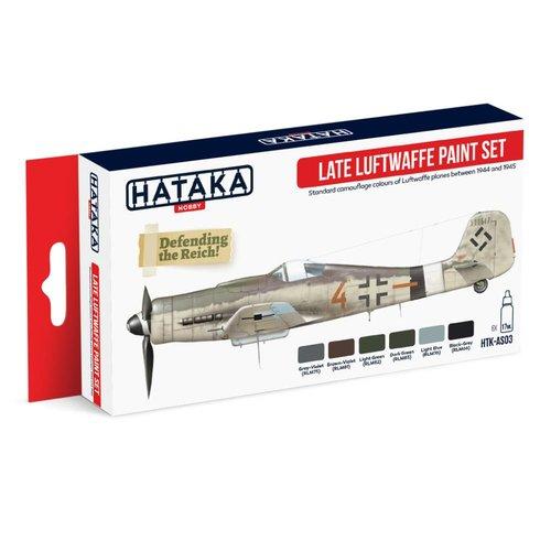 Hataka Late Luftwaffe paint set #  HTK-AS03