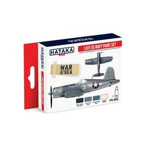 Hataka Late US Navy paint Set # HTK-AS05