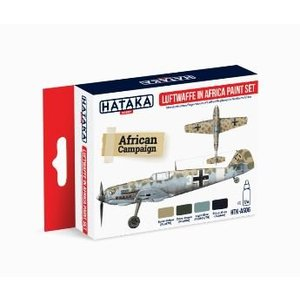 Hataka Luftwaffe  Africa Verf Set # HTK AS06