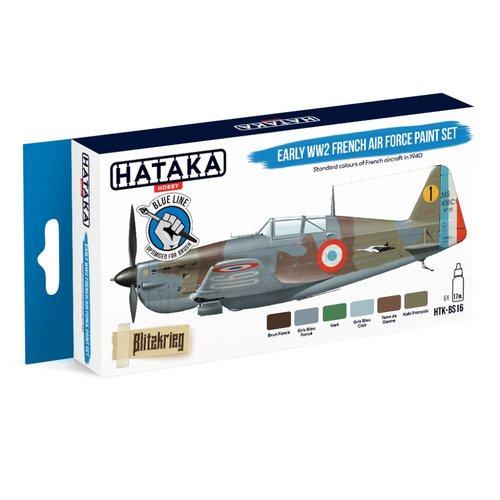 Hataka WW2 French Air Force Verf Set # HTK-BS16