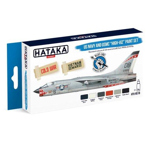 Hataka US Navy & USMC Verf Set # HTK-BS18