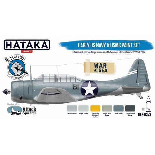 Hataka Early US Navy & USMC # HTK-BS53
