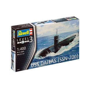 Revell USS Dallas SSN-700 in 1:400 # Revell 05067
