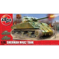 Sherman M4A2 - 1:76 # Airfix 01303