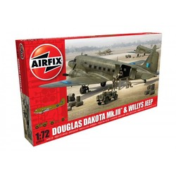 Douglas Dakota MkIII & Willys Jeep 1:72 # Airfix 09008