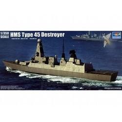 HMS Type 45 Destroyer 1:350 # Trumpeter 04550