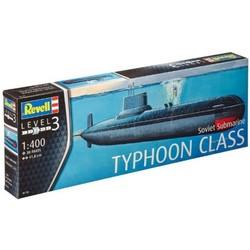 Sovjet onderzeeër Typhoon Klasse # Revell 05138