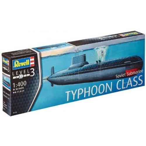Revell Sovjet onderzeeër Typhoon Klasse # Revell 05138