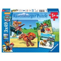 Paw Patrol Puzzel 3 x 49 Stukjes
