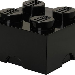 LEGO 4003 Zwarte Opbergbox 2x2