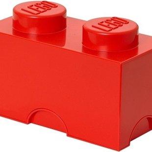LEGO 4002 Rode Opbergbox 2x1