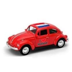 Volkswagen Kever 'I Love Holland' 1:60 Rood # Welly 52222