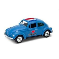 Volkswagen Kever 'I Love Holland' 1:60 Blauw # Welly 52222