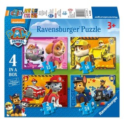 Paw Patrol Puppies Op Pad - 4 in 1 Puzzel