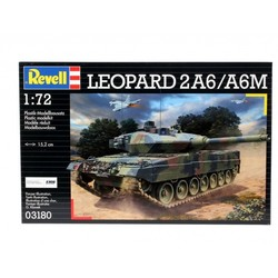 Leopard 2 A6/A6M 1:72 # Revell 03180
