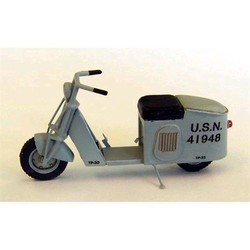 Plusmodel 4012 - 1:48 US Scooter Solo