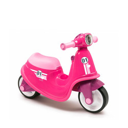 Smoby Loopscooter Roze