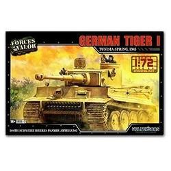Tiger 1 German Tunesia 1943 1:72 # FOV 873001A