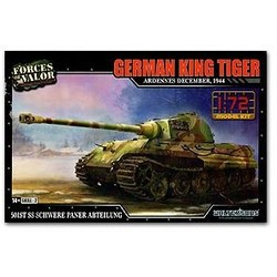 Tiger  King German Ardennes 1944 1:72 # FOV 873002A