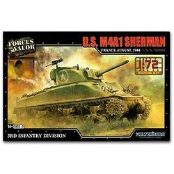 Sherman M4A1 France 1944 1:72 # FOV 873004A