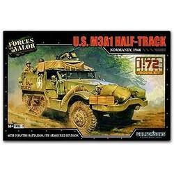 M3A1 Half Track Normandy 1944 1:72 # FOV 873007A