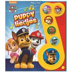 Paw Patrol Geluidenboek Puppie Liedjes