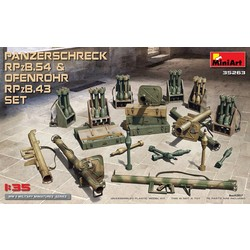 Panzerschreck RPzB.54 & Ofenrohr RPzB.43 Set # MiniArt 35263