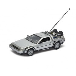 Back to the Future 1: 1983 DeLorean 1:24 # Welly 22443W